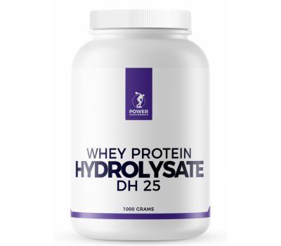 Whey Protein Hydrolysate DH25 1kg - wei-eiwithydrolisaat naturel | Power Supplements