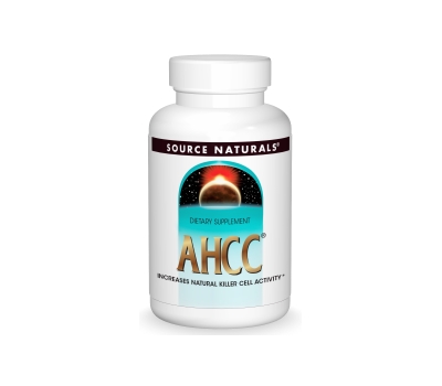 AHCC 500mg 60 capsules - Active Hexose Correlated Compound (alfaglucanen) | Source Naturals