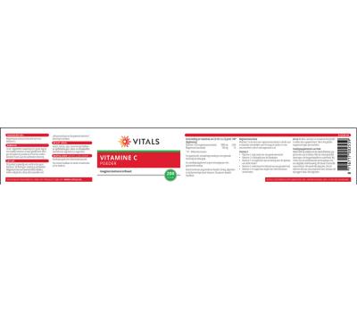 C - Vitamin C powder 200 gram - magnesiumascorbate   Vitals