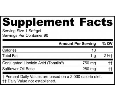 CLA - 750mg 90 softgels - conjugated linoleic acid | Jarrow Formulas