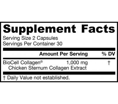 Collagen Complex Type II 60 capsules - collageen in biologisch beschikbare vorm  | Jarrow Formulas