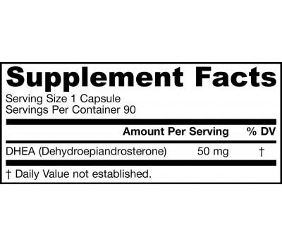 DHEA 50mg 90 capsules - dehydroepiandrosteron | Jarrow Formulas