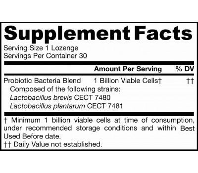 Jarro-Dophilus Oral Probiotic 1 billion 30 lozenges - peppermint flavour | Jarrow Formulas