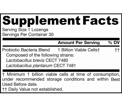 Jarro-Dophilus Oral Probiotioc 1 miljard 30 zuigtabletten - mondprobioticum met pepermuntsmaak | Jarrow Formulas