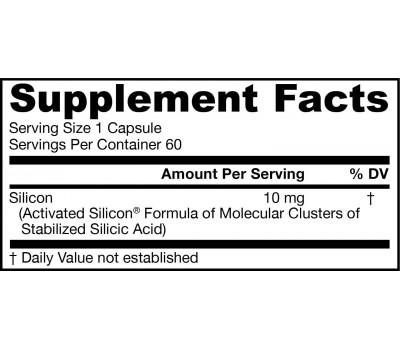 JarroSil 60 capsules - biologisch actief silicium   Jarrow Formulas