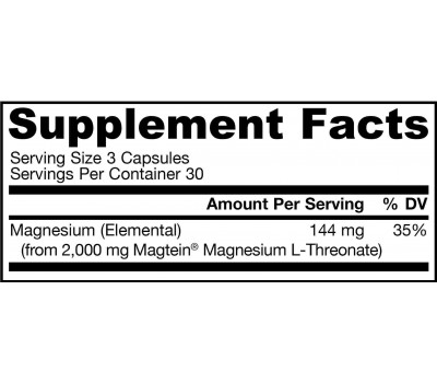 MagMind 90 capsules - magnesium L-threonate for the brain | Jarrow Formulas