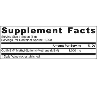 MSM Sulfur 1kg poeder - methylsulfonylmethaan | Jarrow Formulas