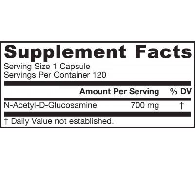 N-acetyl Glucosamine 700mg 120 capsules | Jarrow Formulas