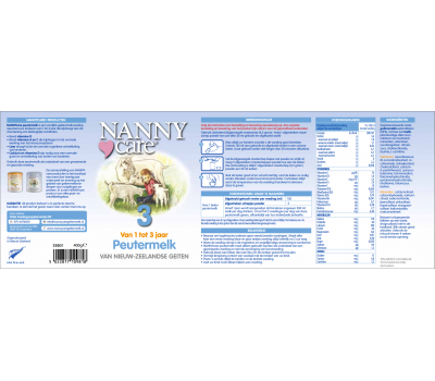 Peuter Geitenmelk van Nieuw-Zeelandse geiten 900g | NANNYcare
