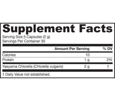 Chlorella from Yaeyama 150 capsules | Jarrow Formulas