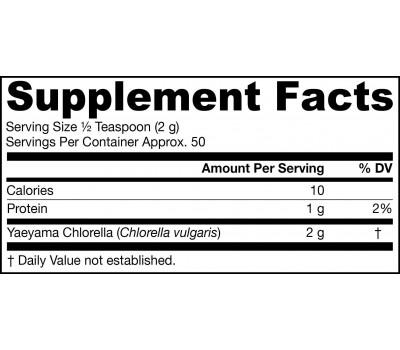 Chlorella from Yaeyama 100g powder    Jarrow Formulas