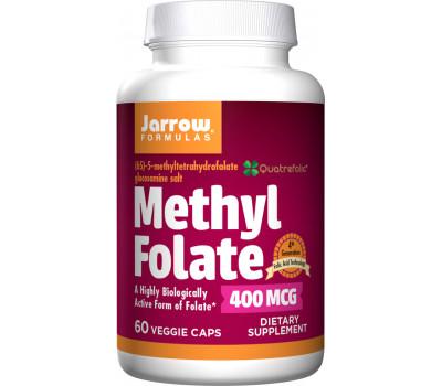 5-MTHF Methylfolate 400mcg 60 capsules, biologisch beschikbaar foliumzuur | Jarrow Formulas