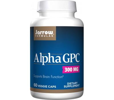 Alpha GPC 60 capsules - L-alphaglycerylphosphorylcholine | Jarrow Formulas