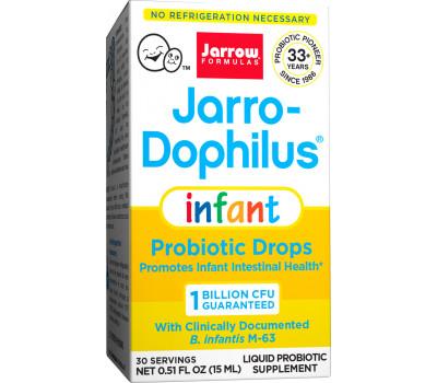 Jarro-Dophilus Infant 8ml druppels - babyprobioticum met 1 miljard Bifidobacterium infantis per dosering   Jarrow Formulas