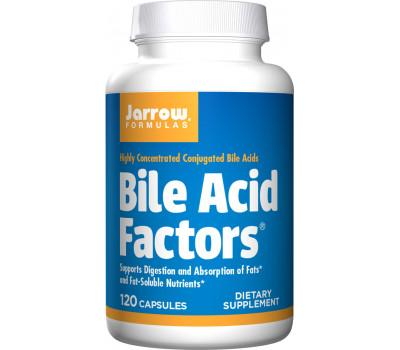 Bile Acid Factors 120 capsules - conjugated and unconjugated bile acids | Jarrow Formulas