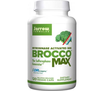BroccoMax delayed release 120 capsules grootverpakking - broccoli extract (sulforafaan glucosinolaat) | Jarrow Formulas