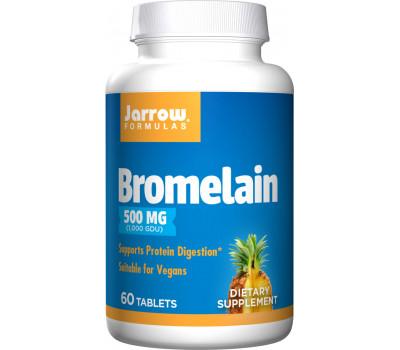 Bromelain 1000GDU 60 capsules - bromelaïne | Jarrow Formulas