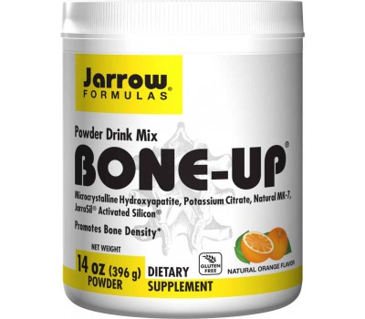 Bone-Up Powder 396g - calcium (MCHA) , magnesium, silicium, vitamin C, D3,K2 (MK-7) | Jarrow Formulas