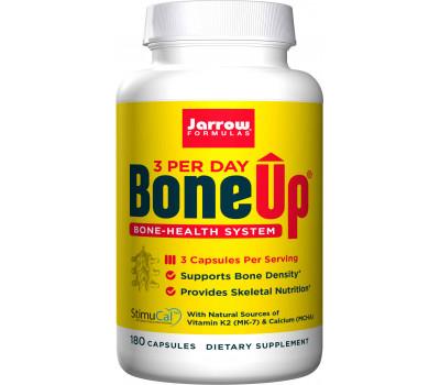 Bone-Up Three Per Day 180 capsules grootverpakking - calcium (MCHA) , magnesium, vitamine C, D3, K2 (MK7) | Jarrow Formulas