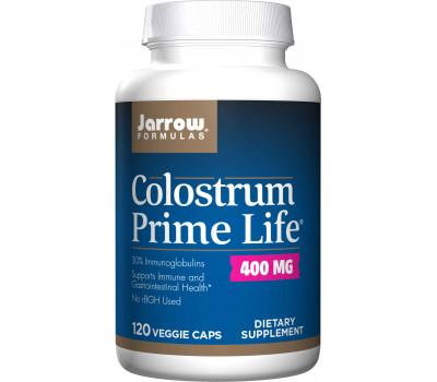 Colostrum Prime Life 400 mg 120 capsules - colostrum with 30% immunoglobulins + lactoferrin | Jarrow Formulas