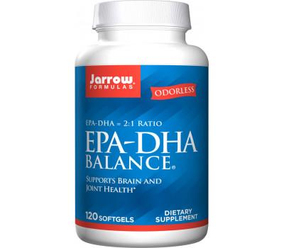 EPA-DHA Premium Balance 120 softgels -  highly concentrated fish oil | Jarrow Formulas