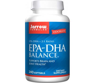 EPA-DHA Premium Balance 240 softgels - highly concentrated fish oil | Jarrow Formulas