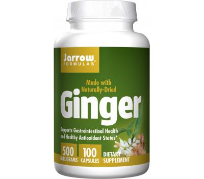 Ginger (Organic) 500mg 100 capsules | Jarrow Formulas