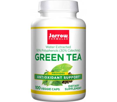 Green Tea 100 capsules - 50% polyphenols + 30% catechines + 15% EGCG | Jarrow Formulas