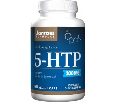 5-HTP 100mg 60 capsules - 5-hydroxytryptophan from Griffonia simplicifolia | Jarrow Formulas