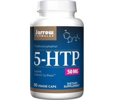 5-HTP 50mg 90 capsules - 5-hydroxytryptophan from Griffonia simplicifolia | Jarrow Formulas