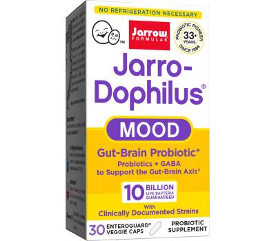 Jarro-Dophilus Mood 10 Billion 30 capsules - digestive probiotic with GABA | Jarrow Formulas