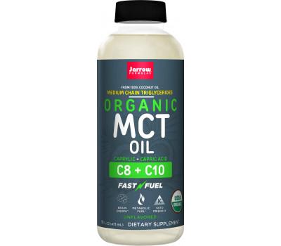 MCT Oil (Organic) Liquid - Organic Medium Chain Triglycerides from organic coconut oil | Jarrow Formulas