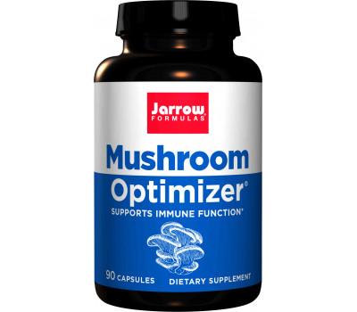 Mushroom Optimizer 90 capsules - mengsel van 7 soorten paddestoelen (elfenbankje, shiitake & maitake) | Jarrow Formulas