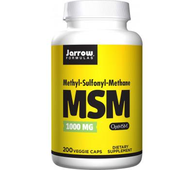 MSM Sulfur 200 capsules - methylsulfonylmethane | Jarrow Formulas