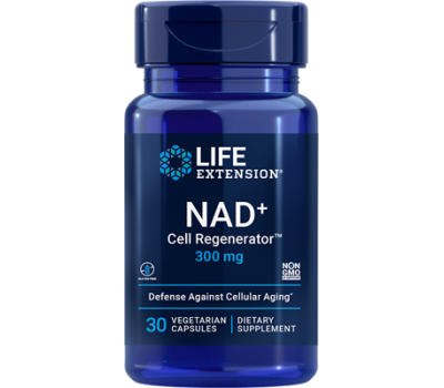 NAD+ Cell Regenerator 300mg 30 capsules - nicotinamide riboside | Life Extension