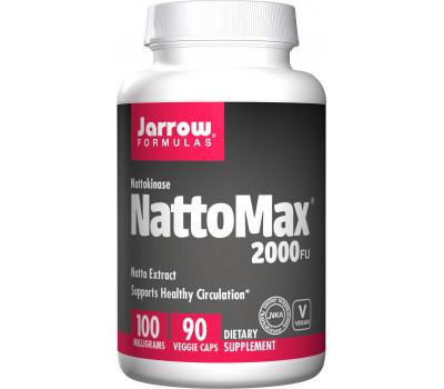 NattoMax 90 capsules voordeelverpakking - nattokinase | Jarrow Formulas
