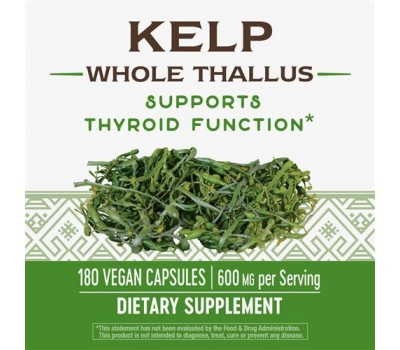Kelp 180 capsules - seaweed with iodine | Nature's Way
