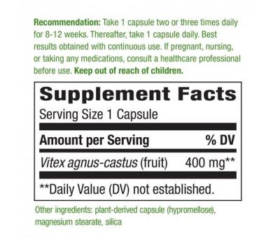 Vitex Fruit 100 caps - monnikspeper | Nature's Way