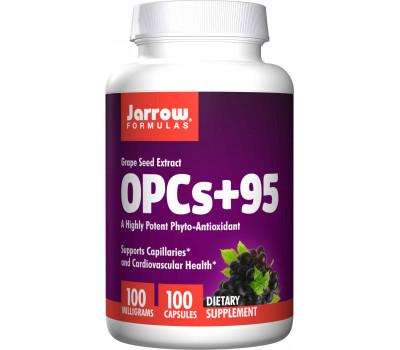 OPCs+95 100 capsules - NO booster met druivepitextract   Jarrow Formulas