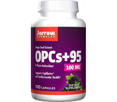 OPCs+95 100 capsules - NO booster with grape seed extract | Jarrow Formulas