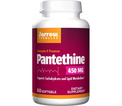 B5 - Pantethine 60 softgels - metabolite of pantothenic acid | Jarrow Formulas