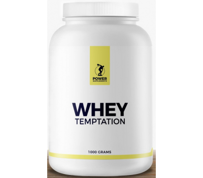 Whey Temptation 1kg - whey protein concentrate | Power Supplements
