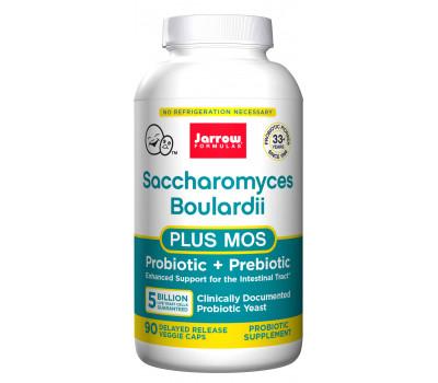 Saccharomyces Boulardii + MOS 5 billion 90 capsules | Jarrow Formulas