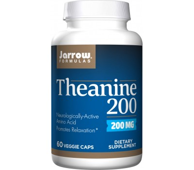 Theanine 200mg 60 capsules | Jarrow Formulas