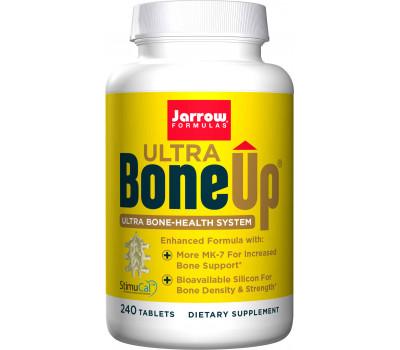 Bone-Up Ultra 240 tablets - calcium (MCHA) , Milk Basic Protein, D3, K2 (MK7) & silicium | Jarrow Formulas
