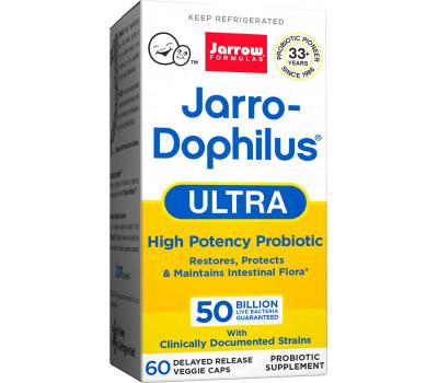 Jarro-Dophilus Ultra 50 miljard 60 capsules  - probioticum met 10 goedaardige bacteriestammen   Jarrow Formulas