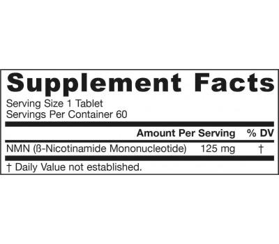 NMN 60 tablets - nicotinamide mononucleotide, a precursor of NAD+ | Jarrow Formulas