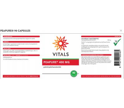PeaPure 90 capsules - palmitoylethanolamide | Vitals